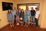 <p>The Goodman Family and Pam Sherman (former Preschool Director and Pk-4 Teacher)<br></p>