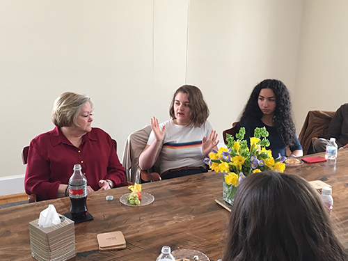Judy Shepard Visits Sayre