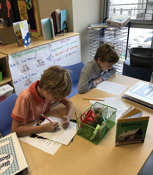 Lower School Language Arts